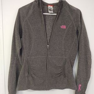 The North Face Women's Small Petite Hoodie Gray Pi